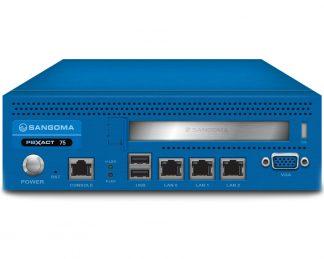 PBXact 75 là một thiết bị dựa trên tiền đề được xây dựng cho các doanh nghiệp vừa và nhỏ tìm cách tích hợp liền mạch các điện thoại IP, VoIP, kết nối PSTN trong khi cải thiện sự cộng tác và năng suất của nhân viên với một bộ các tính năng nâng cao. PBXact 75 hỗ trợ lên đến 75 phần mở rộng được cấp phép và 45 cuộc gọi đồng thời.